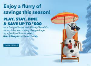 Play, Stay, Dine & Save at Walt Disney World Offers